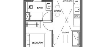 parc-clematis-1-plus-study-floor-plan-1br+s1-singapore