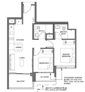 parc-clematis-2-bedroom-floor-plan-2br-4-singapore