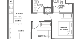 parc-clematis-2-bedroom-floor-plan-2br-4-singapore