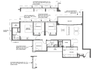 parc-clematis-4-bedroom-floor-plan-4br-p1-singapore
