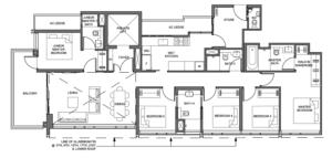 parc-clematis-5-bedroom-premium-floor-plan-5br-p2-singapore